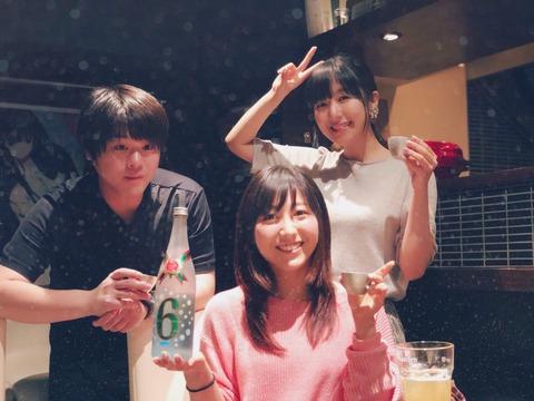 【朗報】松岡君、美人声優姉妹と飲み会をしてしまう