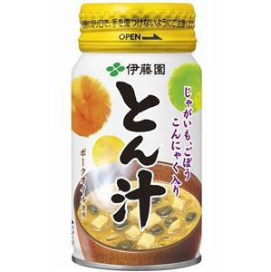 業界初「とん汁」缶飲料発売www 伊藤園