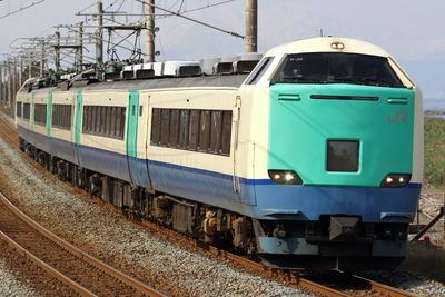 485系糸魚川快速 柿崎~米山