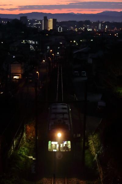 青ガエル打越~池田 始発