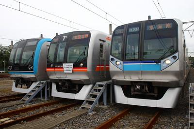 東葉高速イベント3本並びa