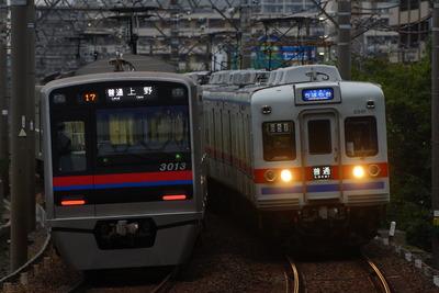 京成3300系並び