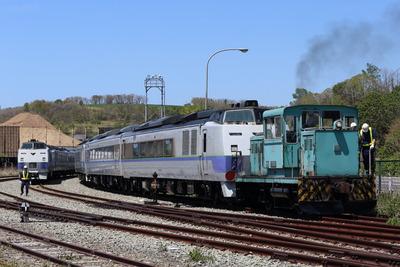 キハ183 廃車回送 3