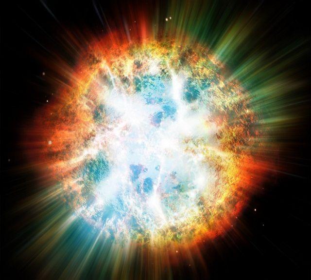 「超新星爆発」の画像検索結果