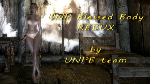UNP BLESSED BODY- UNPB REDUX PROJECT Title画像
