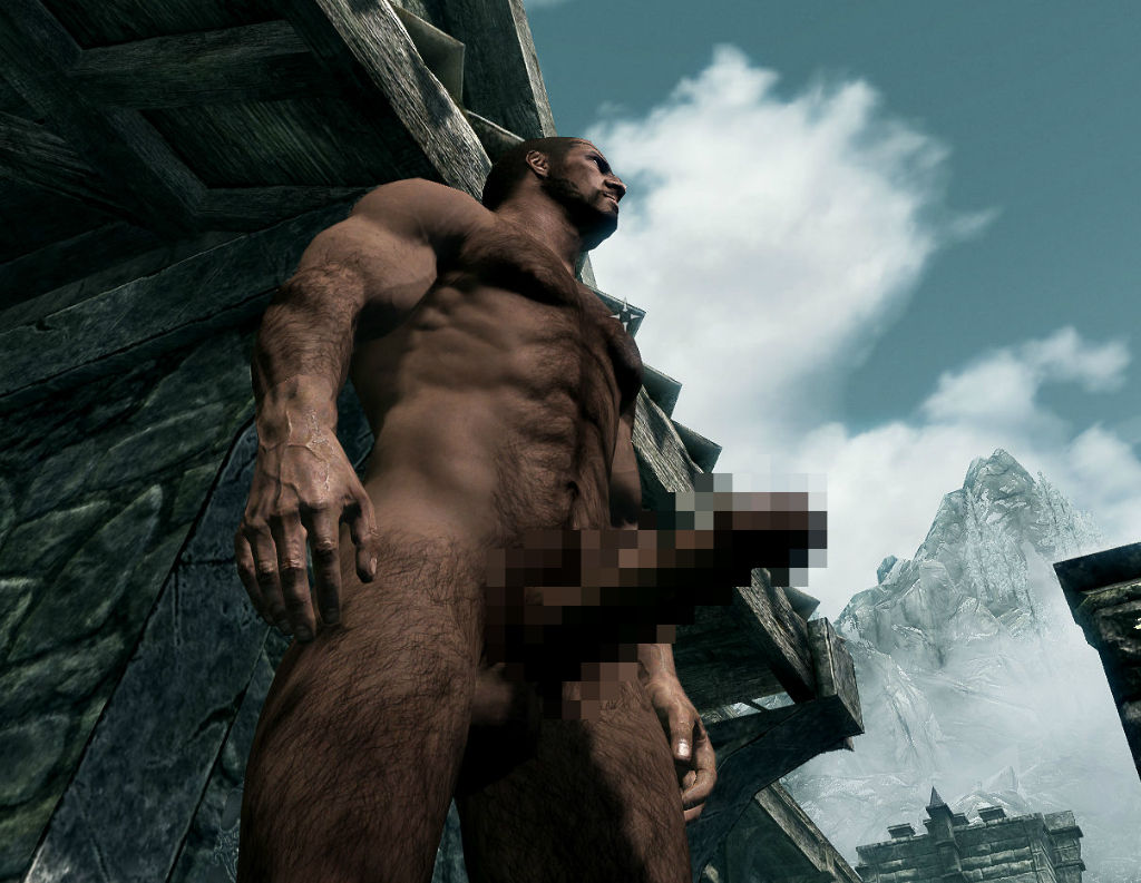 Skyrim nude male