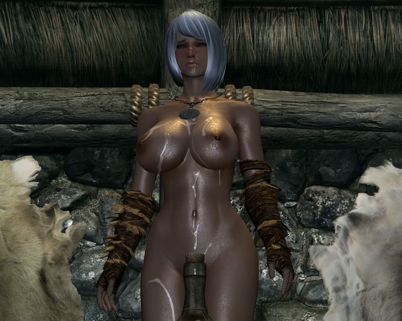 Orc female oblivion sexy erotica pussy