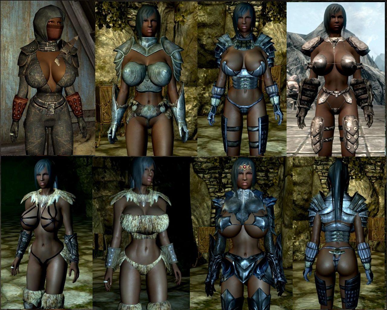 Skyrim Clothes Armour Resource