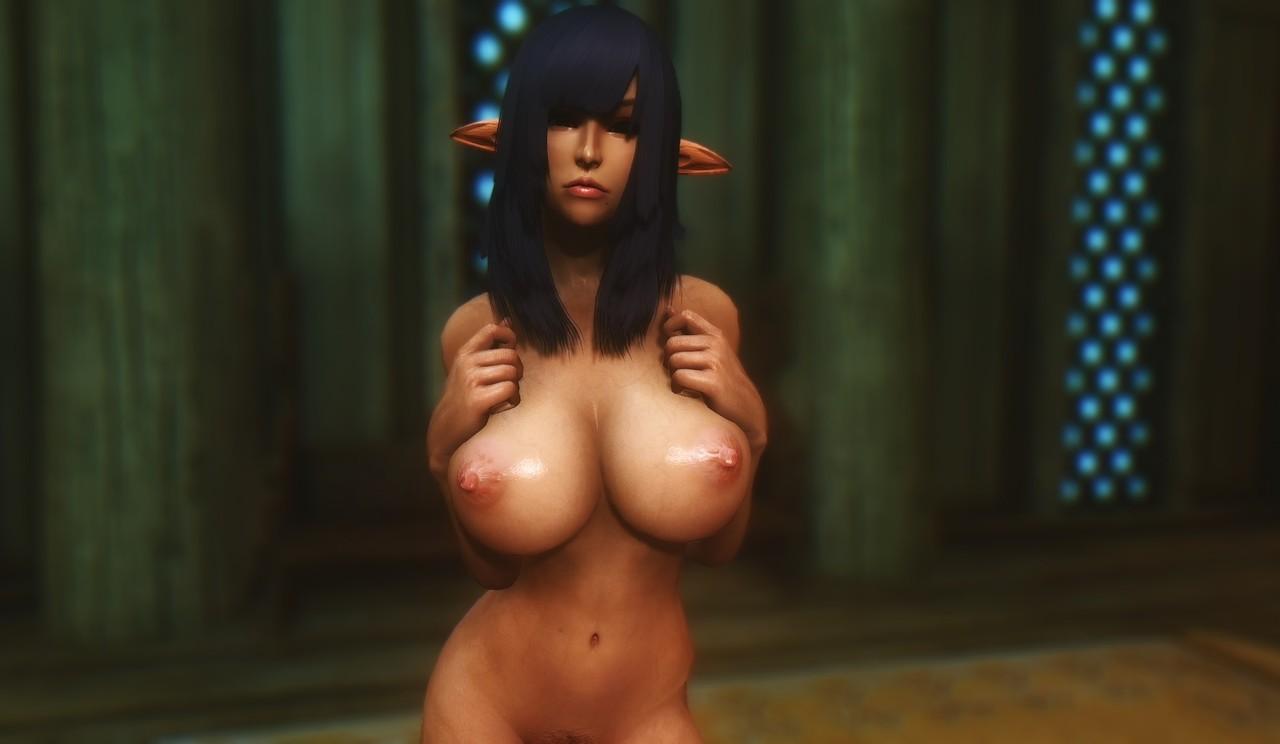 Nude khajiit boobs nudes clips