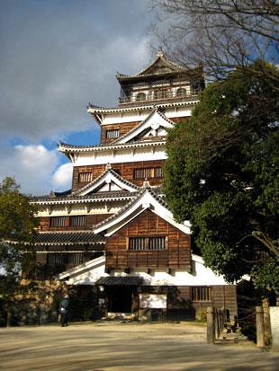 広島城天守閣2