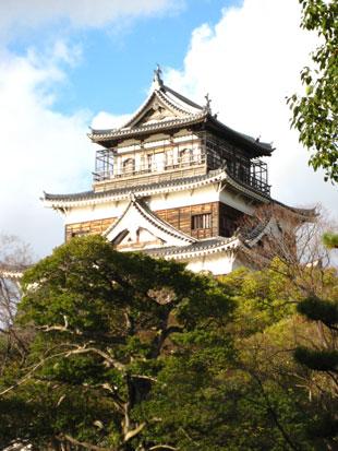 広島城天守閣1