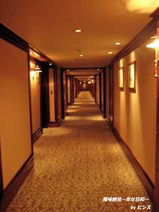 ソウルプラザホテル廊下