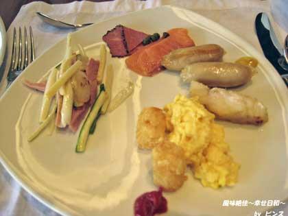 プラザホテルの朝食2