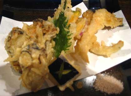 牡蠣のてんぷら@広島の居酒