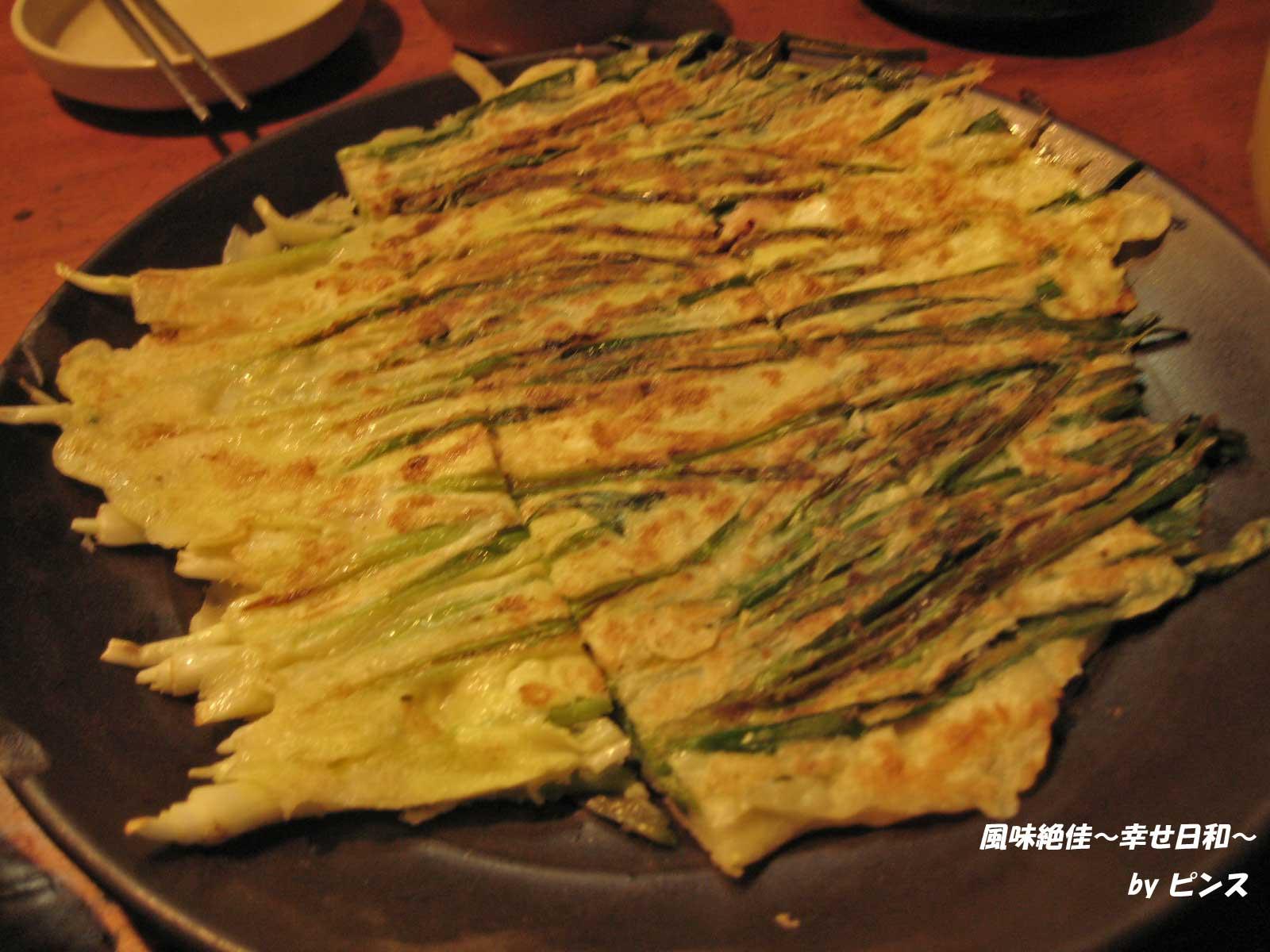 海鮮パジョン〜明洞チョガチ