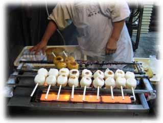 味噌焼き団子