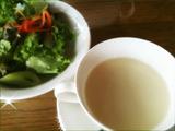 サラダ/じゃがいもの冷製スープ