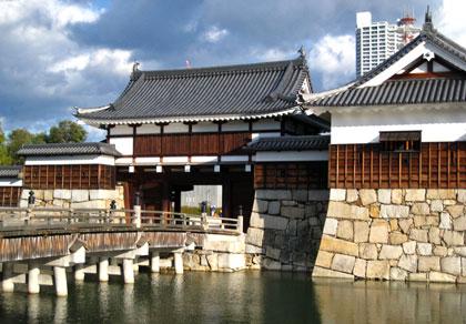 広島城表門