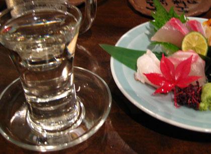 日本酒登場@広島の居酒屋さ