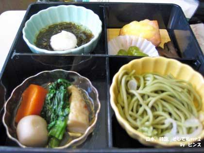 ビジネス機内食@JAL日韓線