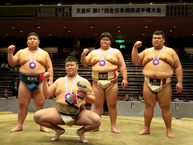 第67回 全日本相撲選手権大会 : ...