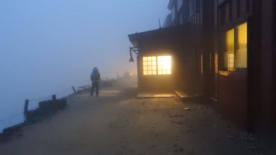 唐松岳山頂3 素晴らしい景色とブロッケン現象  北アルプス