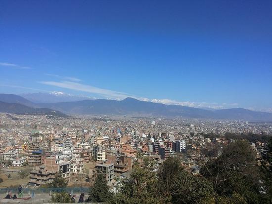 ネパール  首都カトマンズには信号がない!