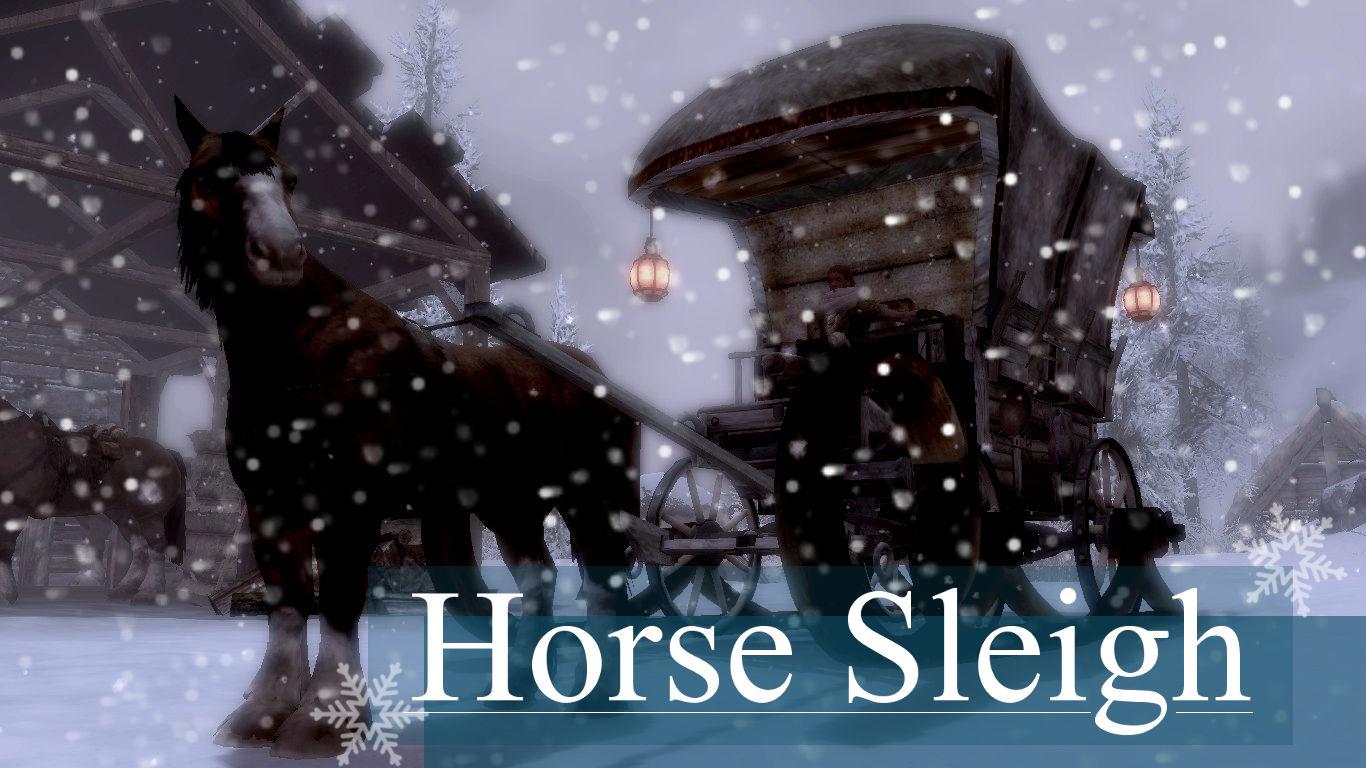 HorseSleigh1