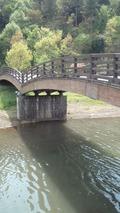 川崎城址公園の橋