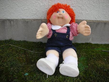 キャベツ 人形