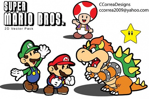 super-mario-vector-pack_610700