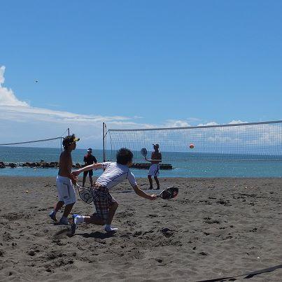 201208ビーチテニス 1