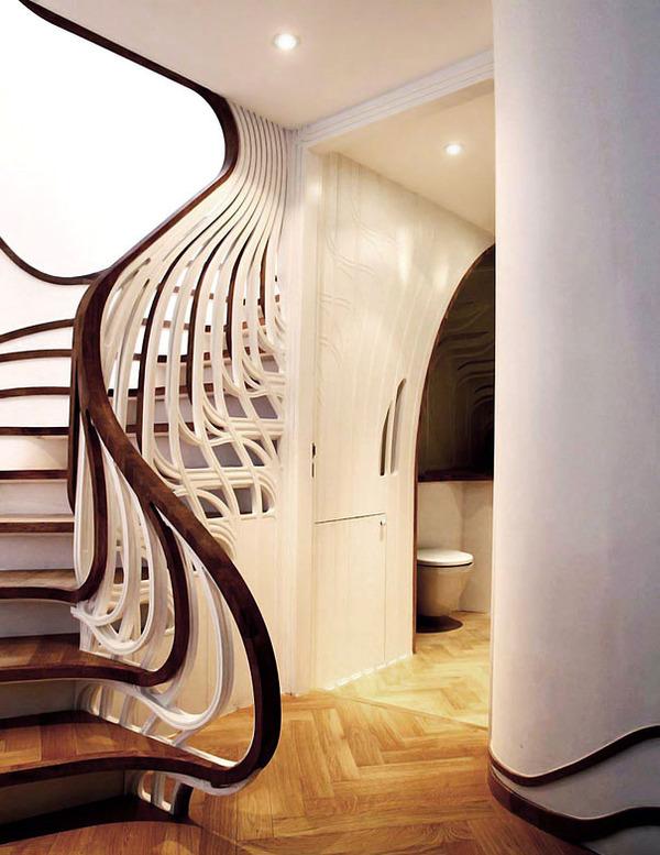 13 - Modern art nouveau architecture ...
