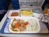 59帰りの機内食