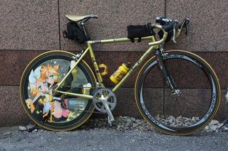 今年の痛自転車仕様