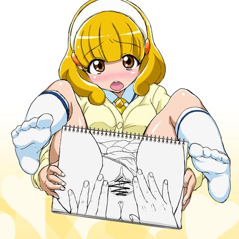 【虹エロ画像】 プリキュア欲しいなぁ |ω・`)チラチラ7240