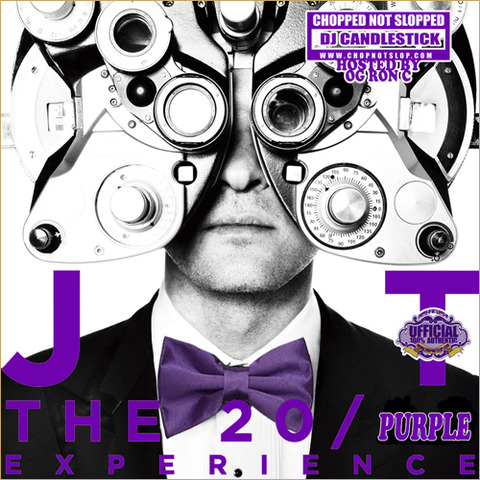 【Mixtape】OG Ron C & Justin Timberlake – The 20/20 Purple Experience (Chopped Not Slopped)