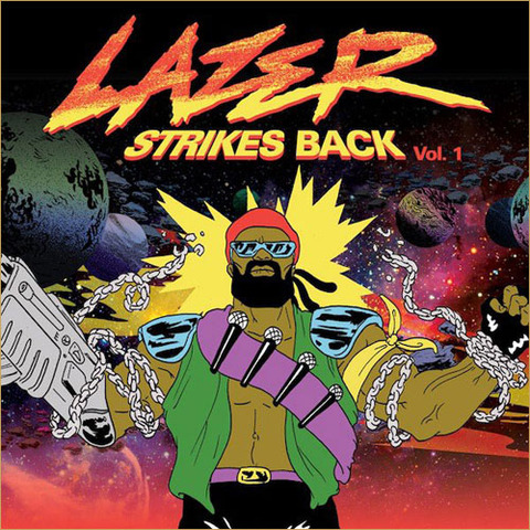 Major Lazer - LAZER STRIKES BACK Vol.1