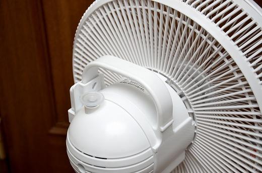 東芝 リモコン付扇風機 F-ALS50 組み立て レビュー 20