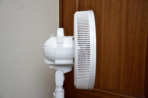 東芝 リモコン付扇風機 F-ALS50 組み立て レビュー 13
