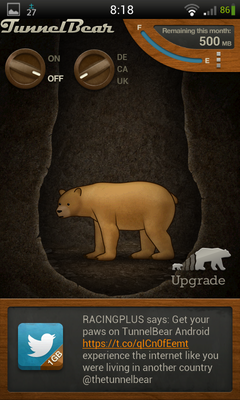 TunnelBear VPN 使い方 (6)