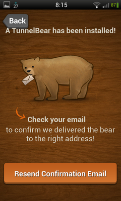 TunnelBear VPN 使い方 (3)