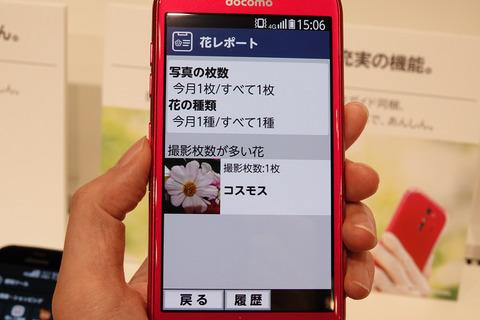 らくらくスマートフォン me F-01L-004