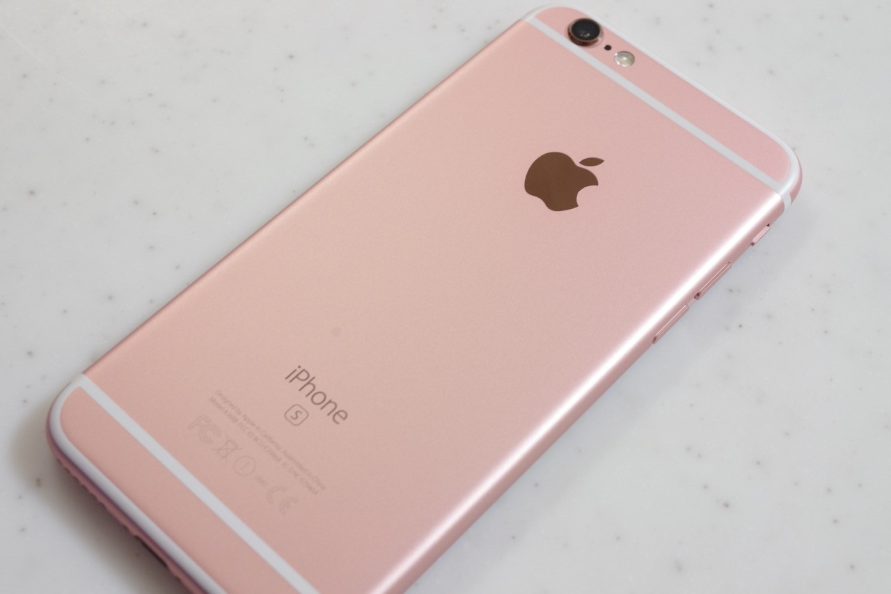 rose gold iphone ついに iphone 6s と iphone 6s plus が発売 simフリー版のiphone 6sのローズ 1055