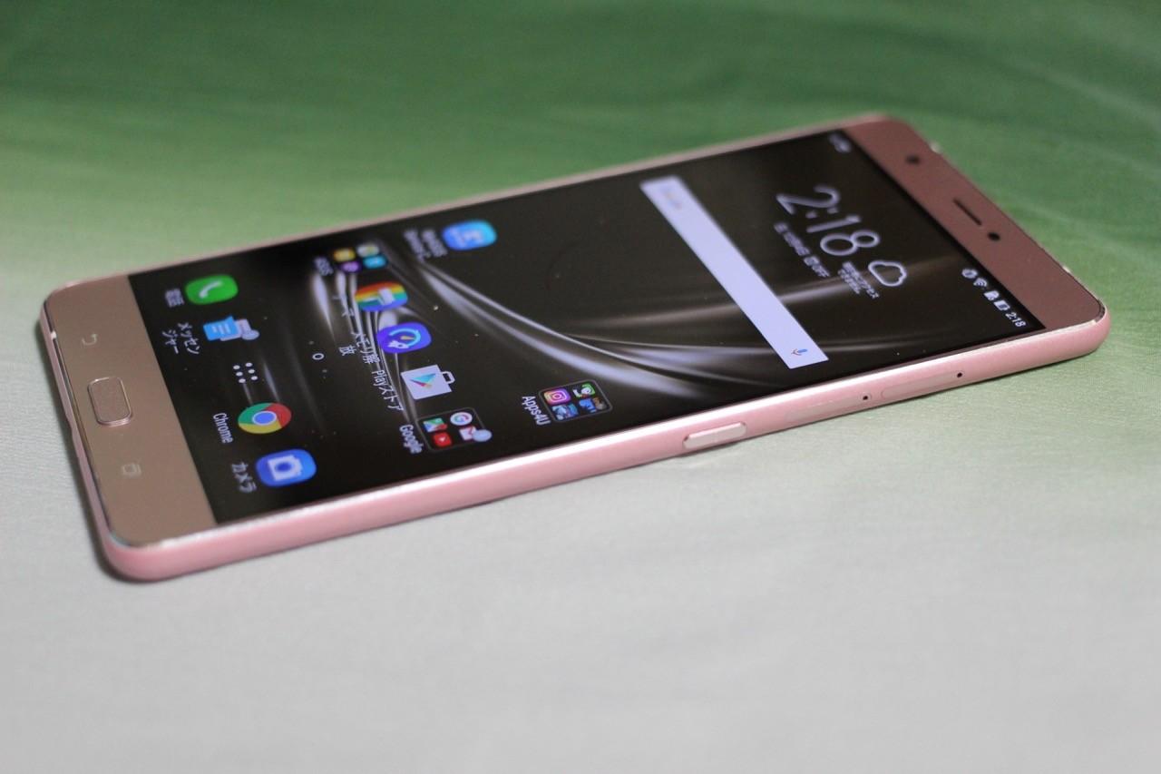 Simフリーの大画面6 8インチスマホ Asus Zenfone 3 Ultra Zu680kl の