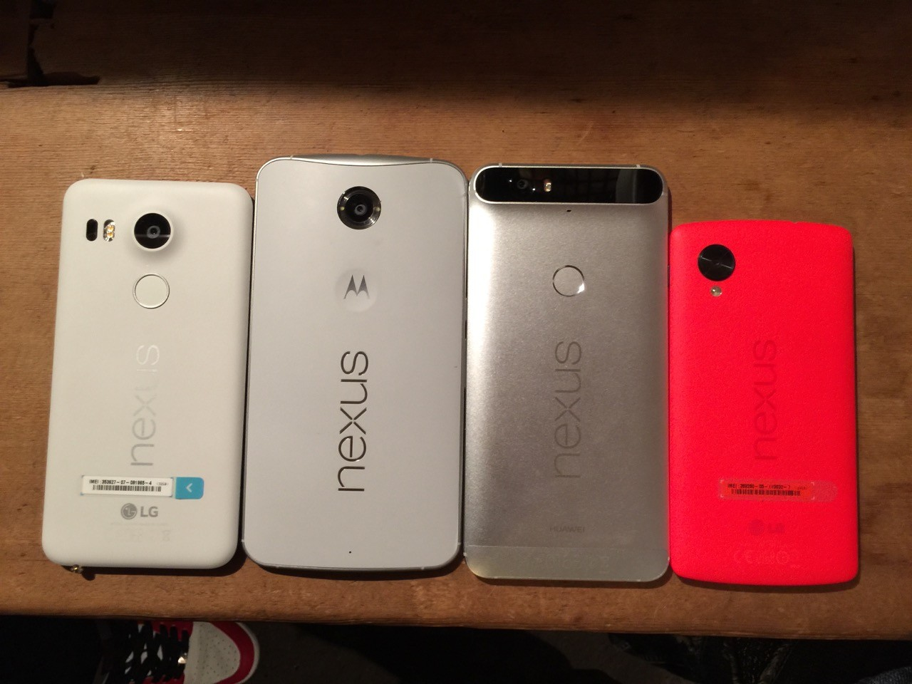 nexus 6pを5xや6 5と比較 発熱問題もなくスペックは圧倒的 ライブドア