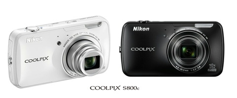 【Android搭載デジカメを徹底紹介!ニコン「COOLPIX S800c」特集】