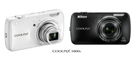 【Android搭載デジカメを徹底紹介!ニコン「COOLPIX S800c」特集】