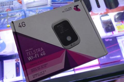 オーストラリア Telstra向けのモバイルWi-Fiルーター