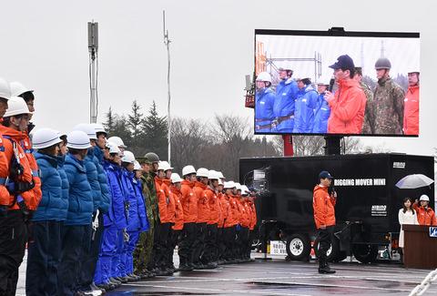 KDDIが地方初の宮城県で実施した災害対策公開訓練の内容を紹介!初お披露目のUQ車載型基地局など、東日本大震災からの7年間で取り組んだ集大成を公開【レポート】